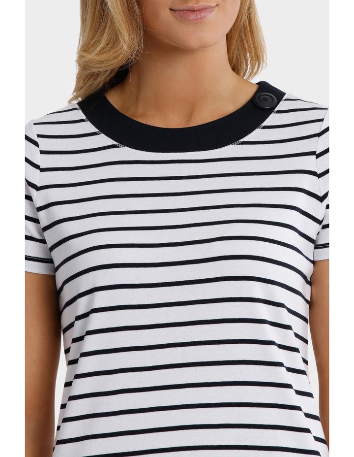 Essential Duo Stripe Short Sleeve Tee image 4