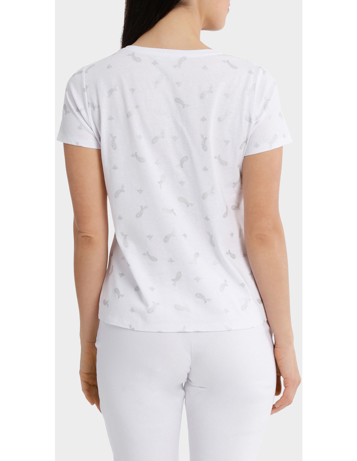 Essential Cotton Foil Short Sleeve Tee image 3
