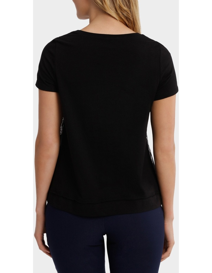 Sequin Embroided Short Sleeve Tee image 3