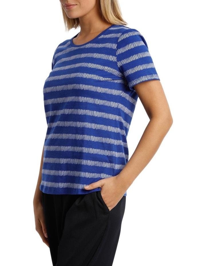 Essential Short Sleeve Tee Matchstick Stripe image 2