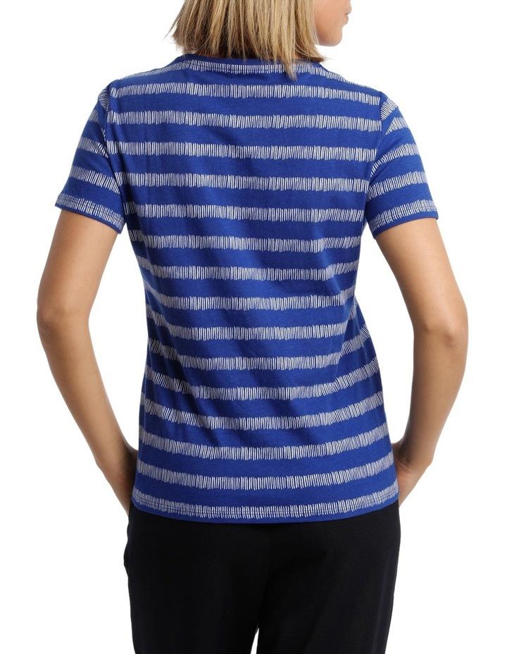 Essential Short Sleeve Tee Matchstick Stripe image 3
