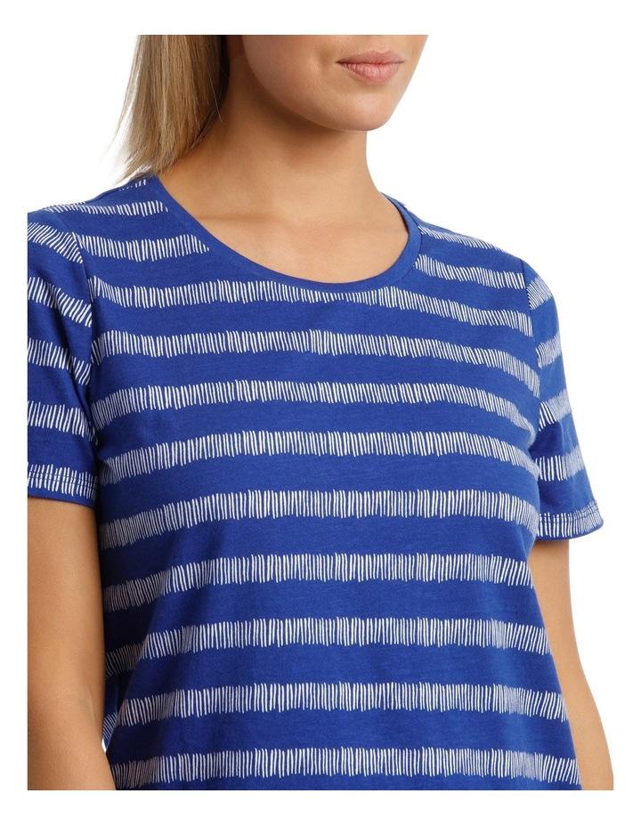 Essential Short Sleeve Tee Matchstick Stripe image 4