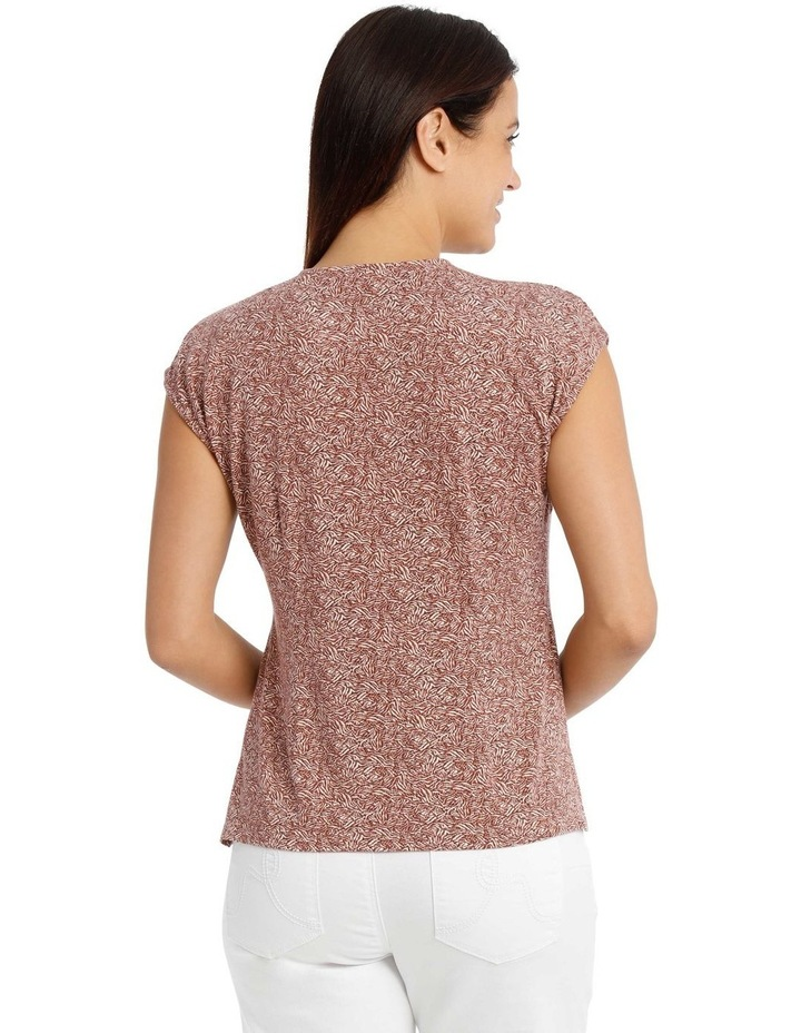 Extended Shoulder Inverted Pleat Tee image 3