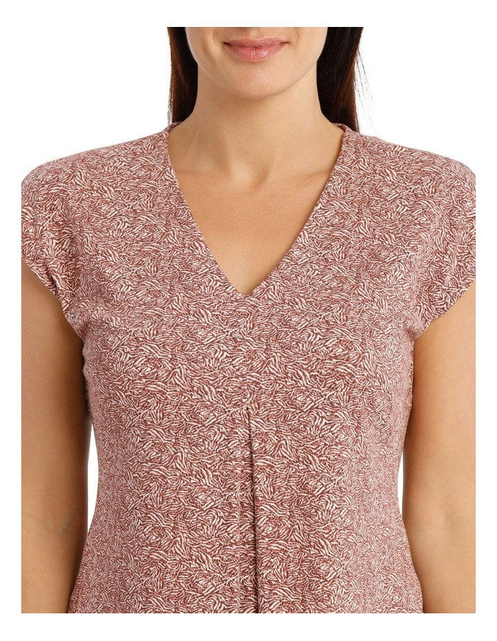 Extended Shoulder Inverted Pleat Tee image 4