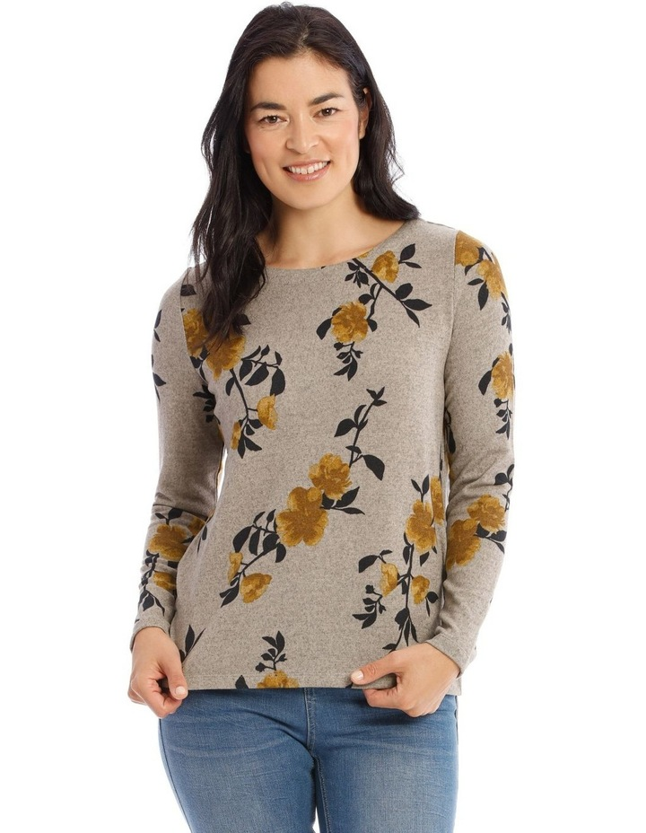 Crew Neck Long Sleeve Soft Touch Tee image 1