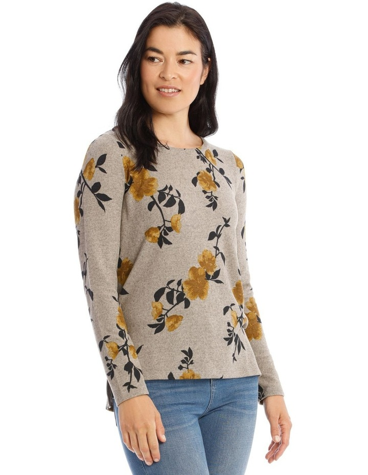 Crew Neck Long Sleeve Soft Touch Tee image 2