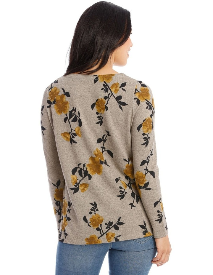 Crew Neck Long Sleeve Soft Touch Tee image 3