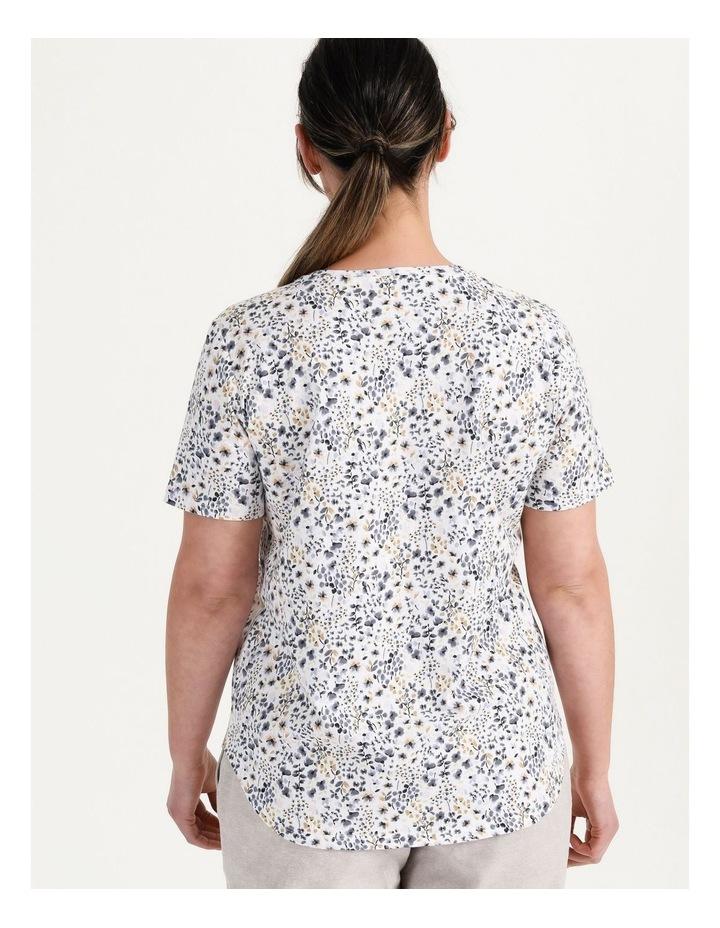Wardrobe Staple Tee Blue Floral image 7