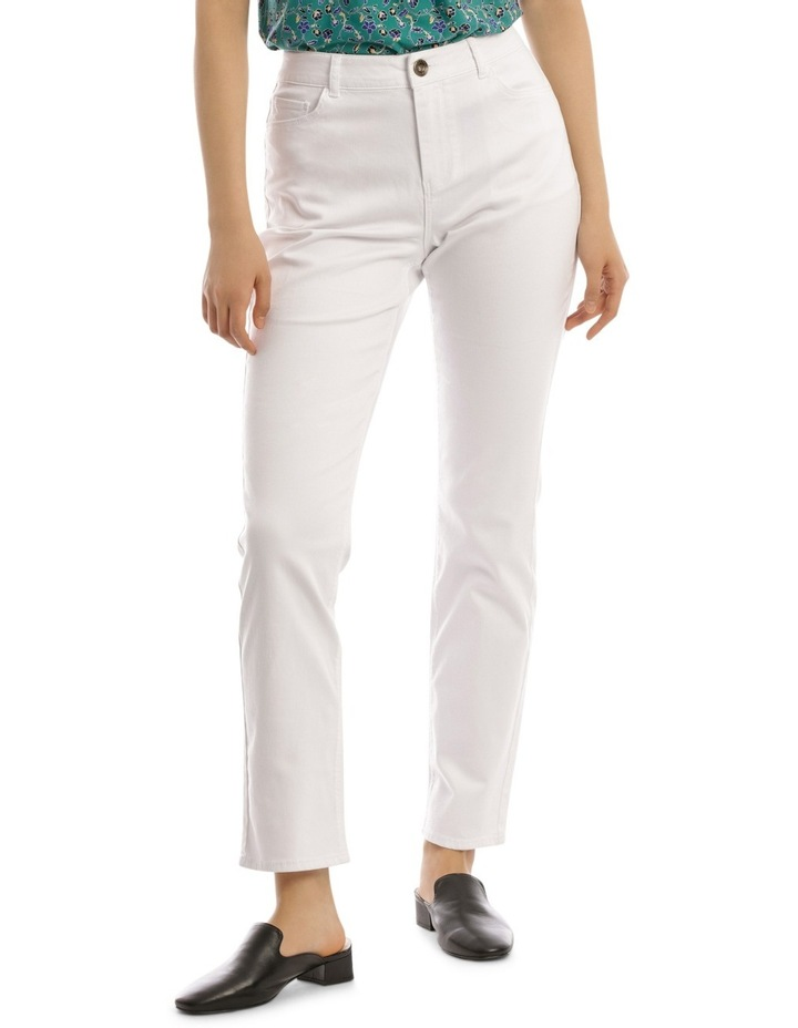 Essential Straight Jean White image 1