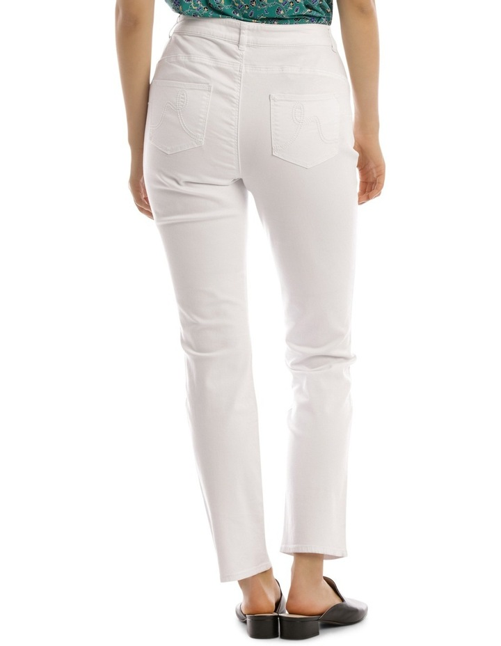 Essential Straight Jean White image 3