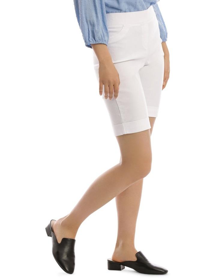 Essential Stretch Short White image 2