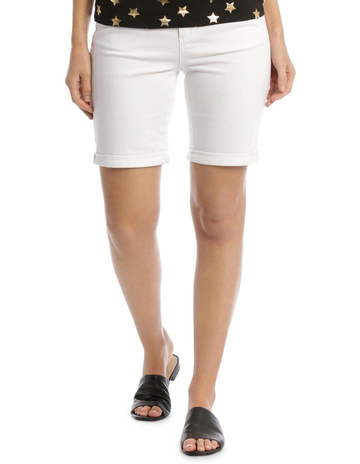 Essential Denim Short White image 1