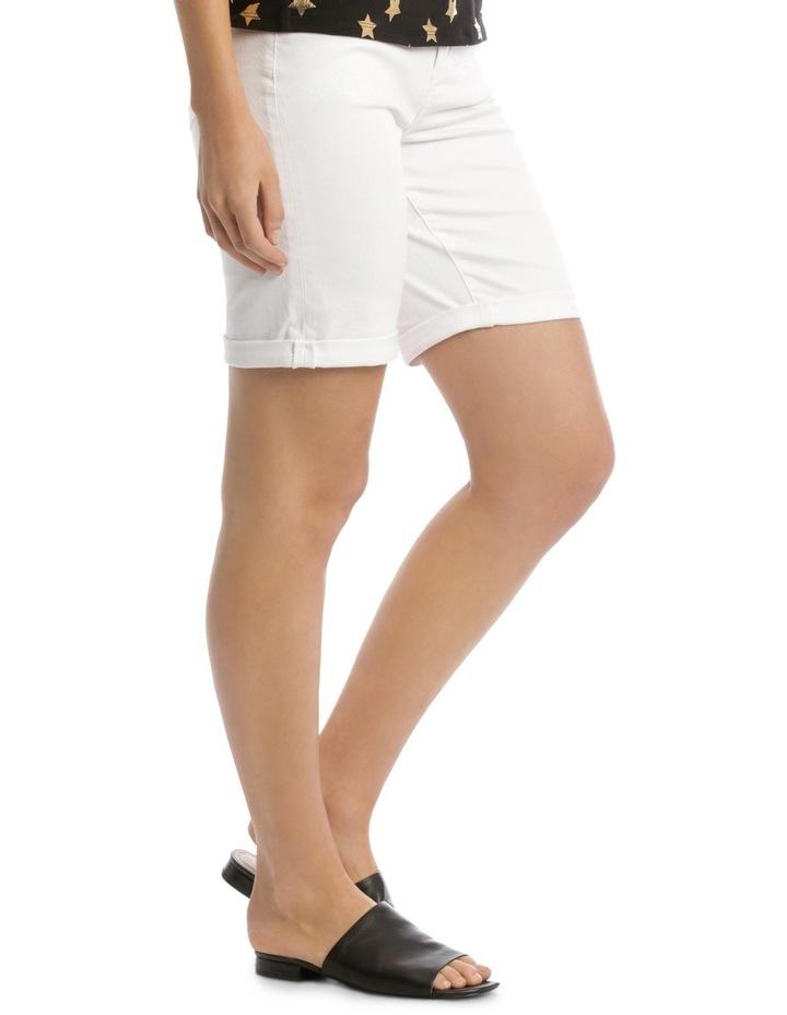 Essential Denim Short White image 2
