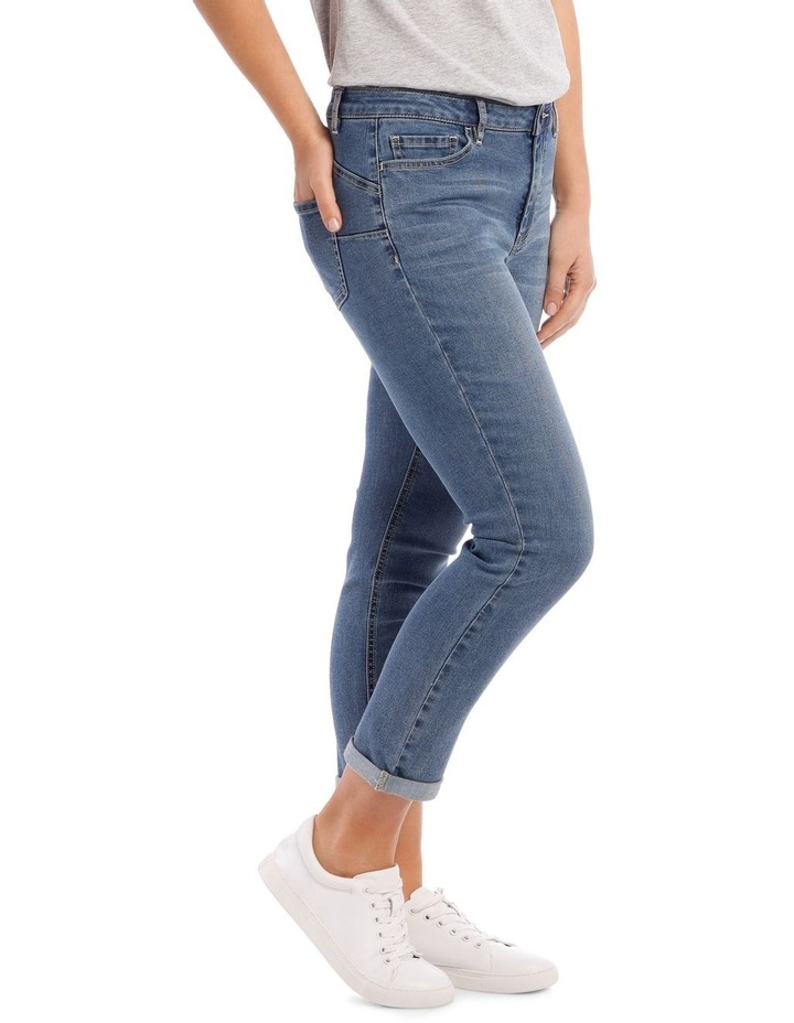 Essential Stretch Denim Crop image 2