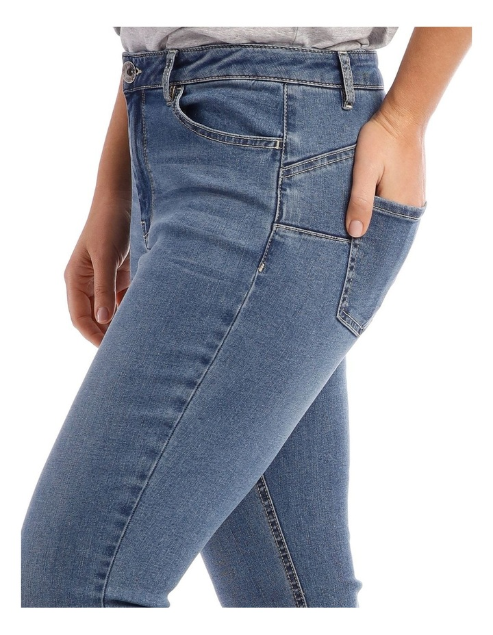 Essential Stretch Denim Crop image 4