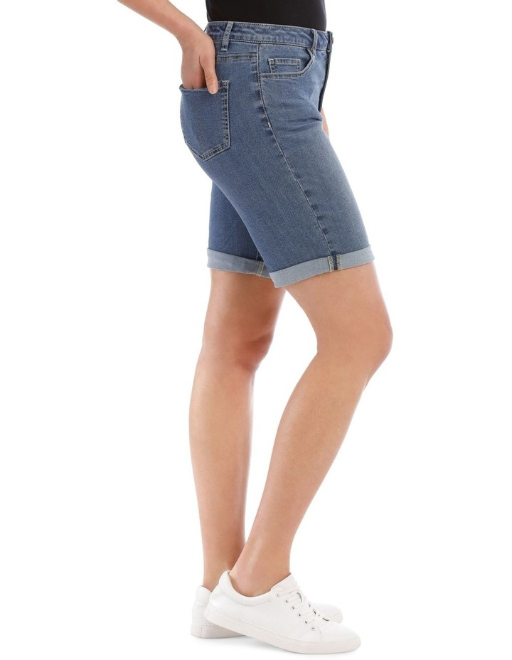 Stretch Denim Short image 2