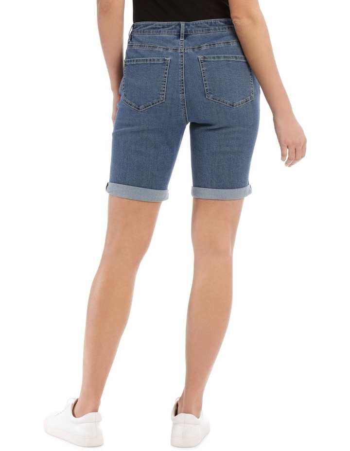 Stretch Denim Short image 3