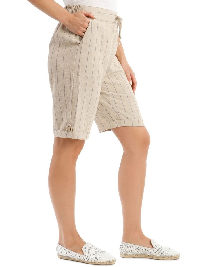 Tie-Waist Cuffed Shorts image 2