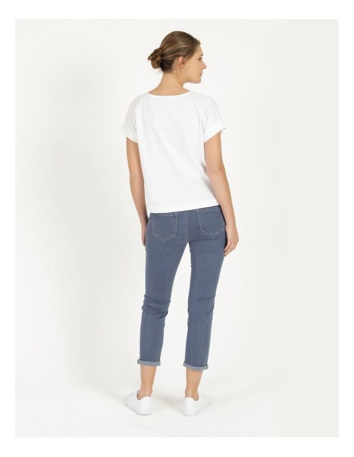 Wardrobe Staple Denim Crop Jean Mid Wash image 4