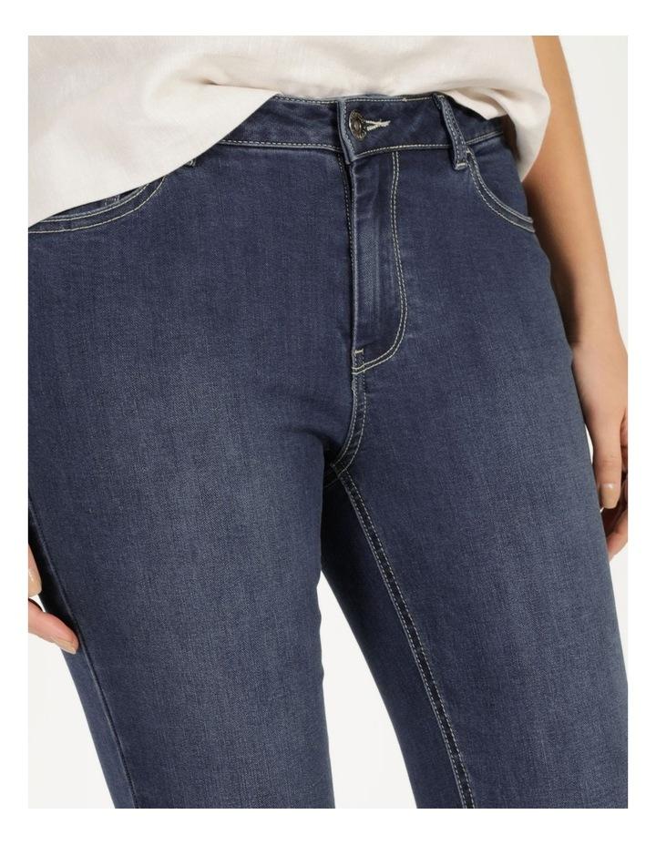 Wardrobe Staple Denim Crop Jean Dark Wash image 6