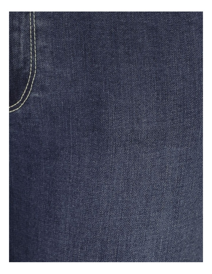 Wardrobe Staple Denim Crop Jean Dark Wash image 7