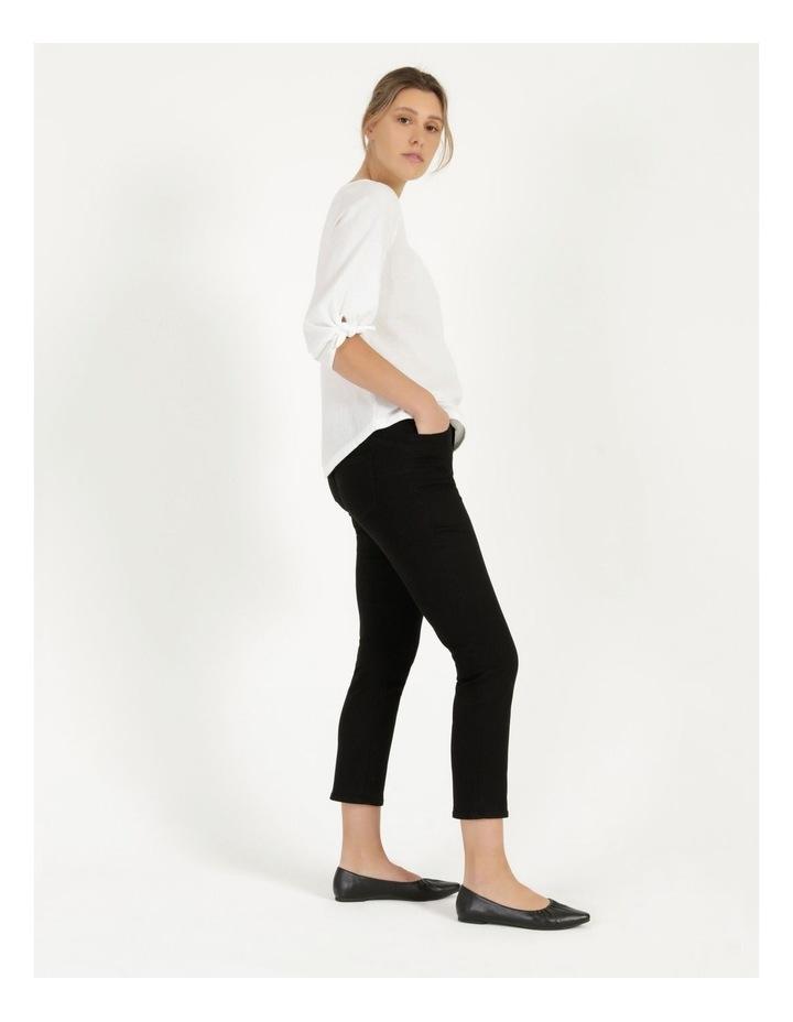 Wardrobe Staple Denim Crop Jean Black image 3