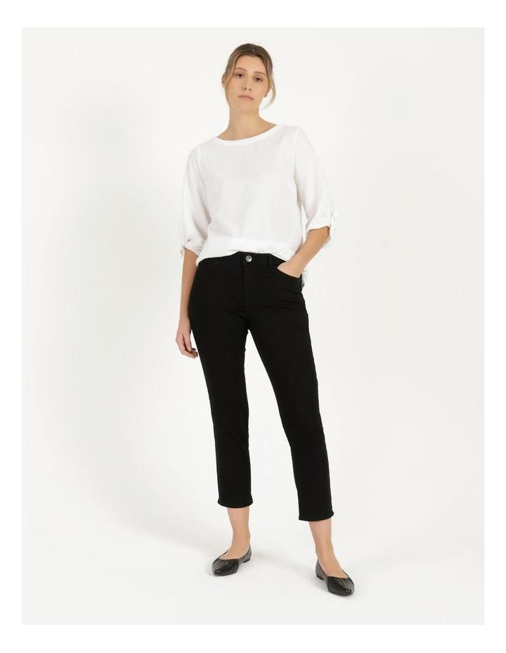 Wardrobe Staple Denim Crop Jean Black image 5