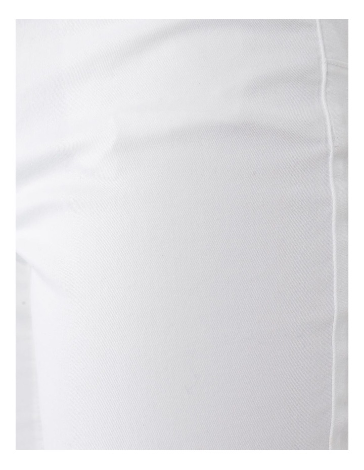 Wardrobe Staple Denim Crop Jean Blanc White image 7