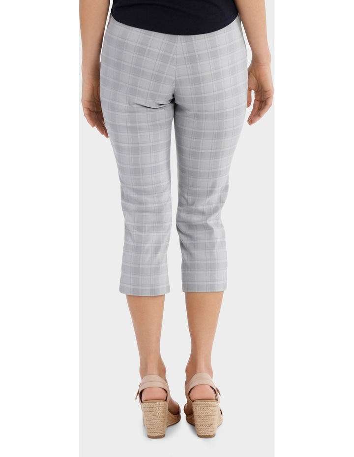 Essential Stretch Text Crop Pant image 3