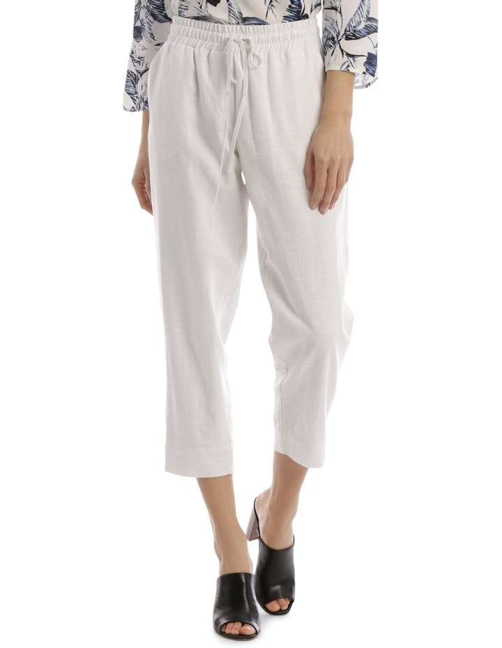Must Have Linen Blend Pant White image 1