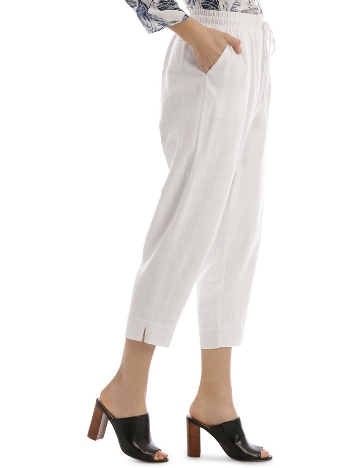 Must Have Linen Blend Pant White image 2