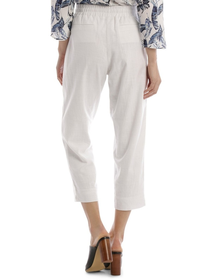 Must Have Linen Blend Pant White image 3