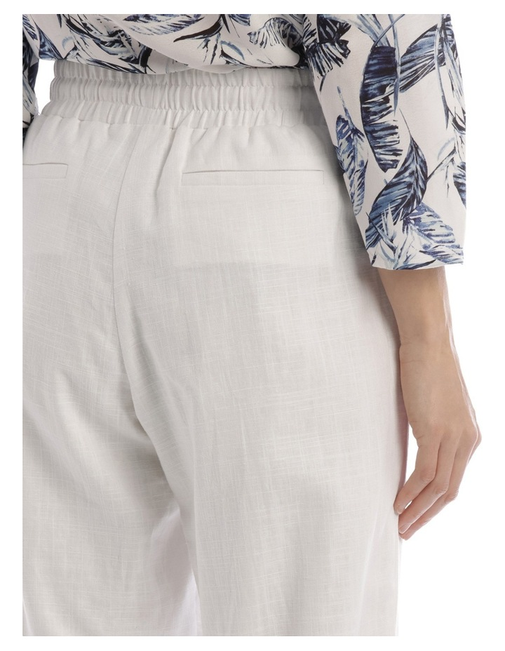 Must Have Linen Blend Pant White image 4