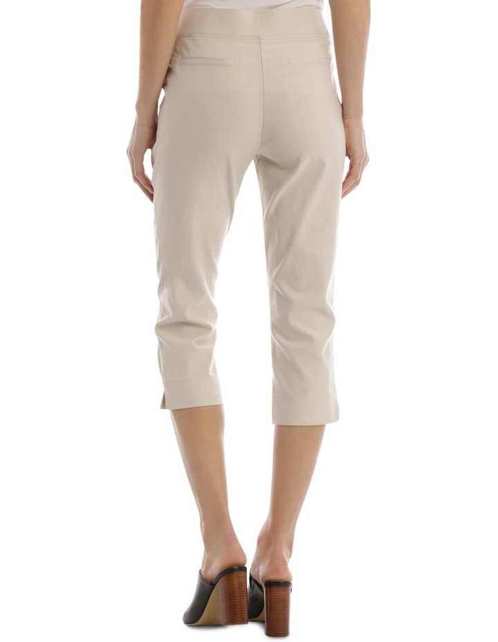Essential Stretch Crop Pant Stone image 3