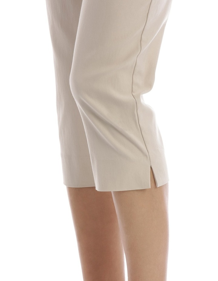 Essential Stretch Crop Pant Stone image 4