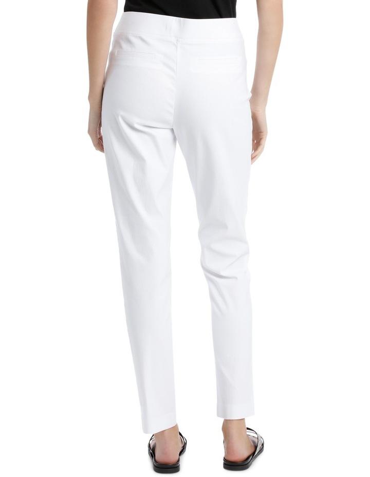 Essential Stretch Slim Leg Pant White image 3