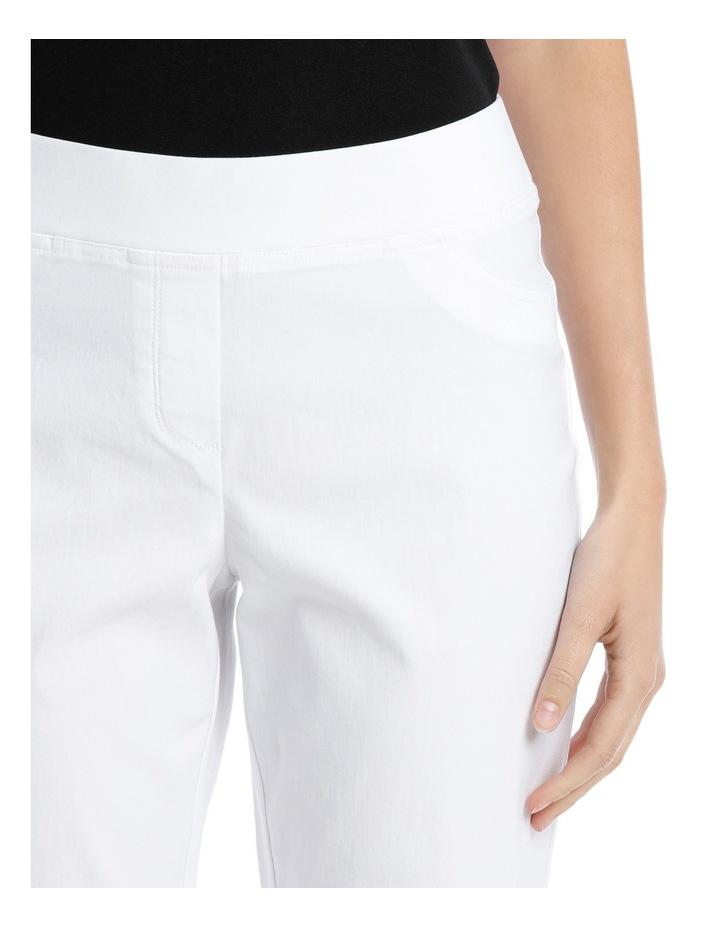 Essential Stretch Slim Leg Pant White image 4