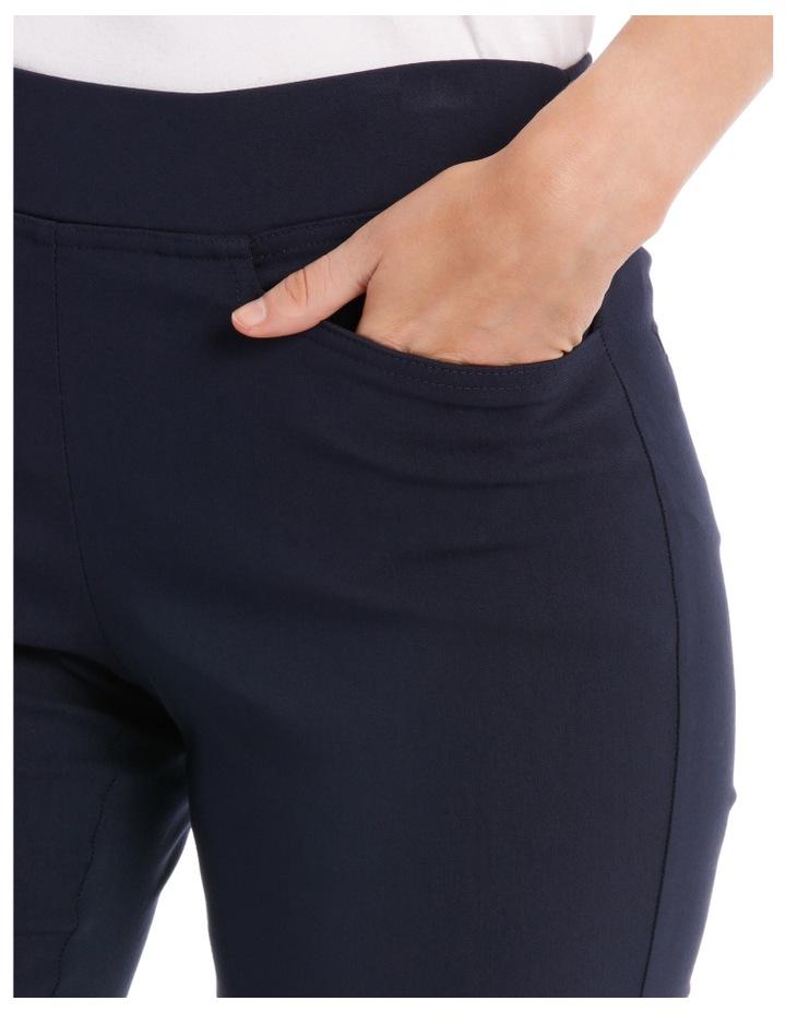 Straight Leg Stretch Fl Pant-Navy image 4
