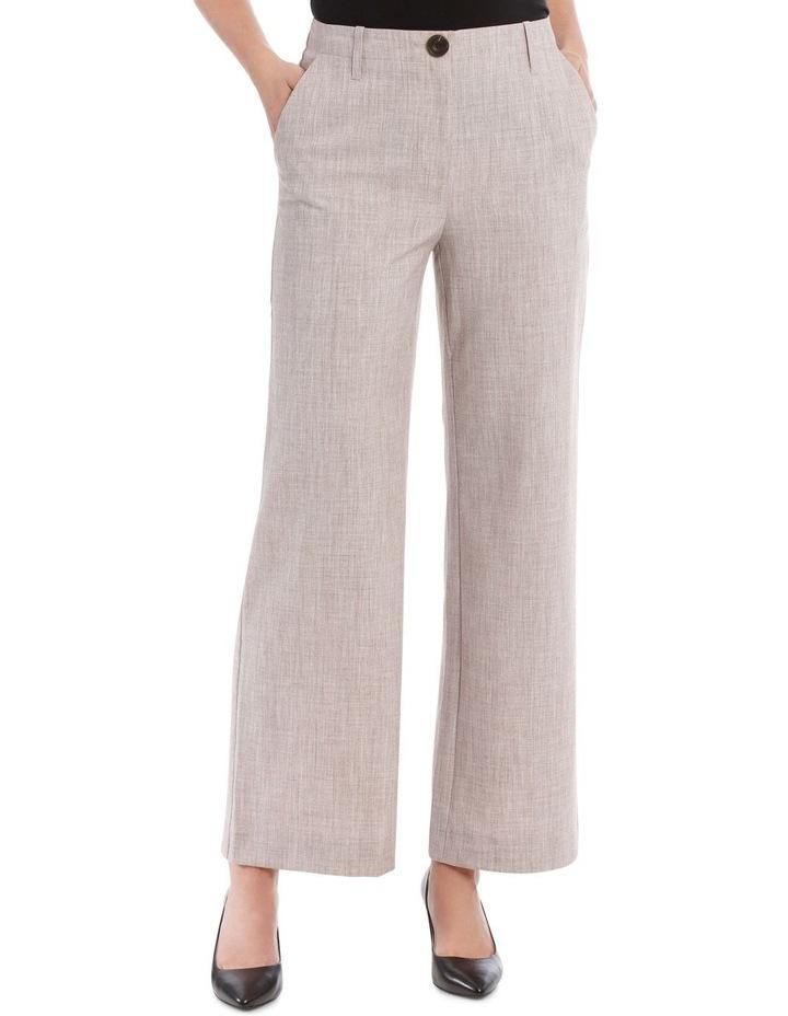 Flat Waisted Wide Leg Pant image 1