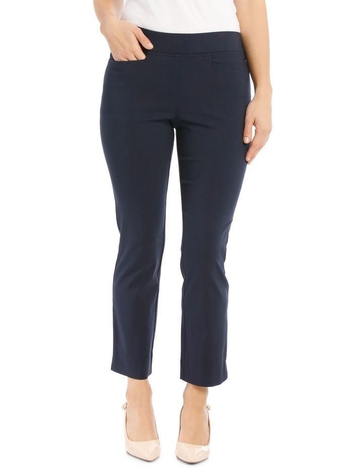Essential Stretch Crop Pant-Navy image 1