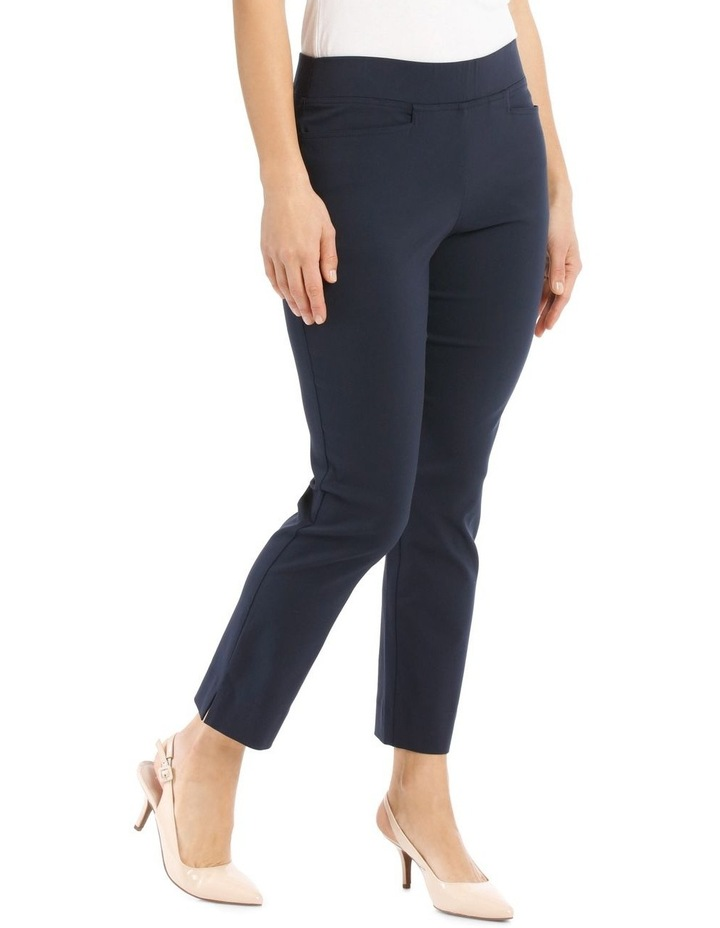 Essential Stretch Crop Pant-Navy image 2