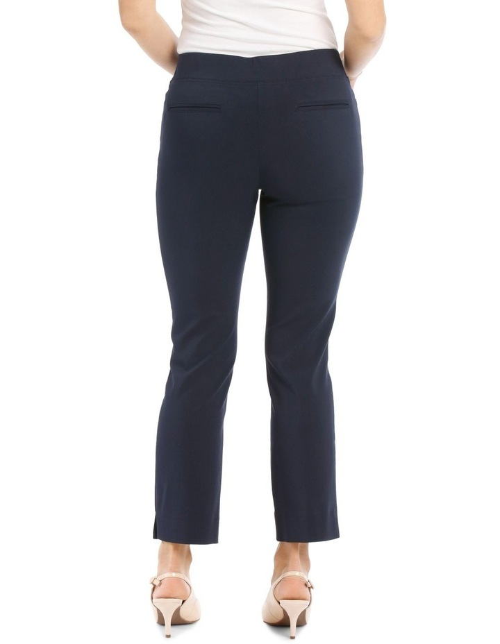 Essential Stretch Crop Pant-Navy image 3