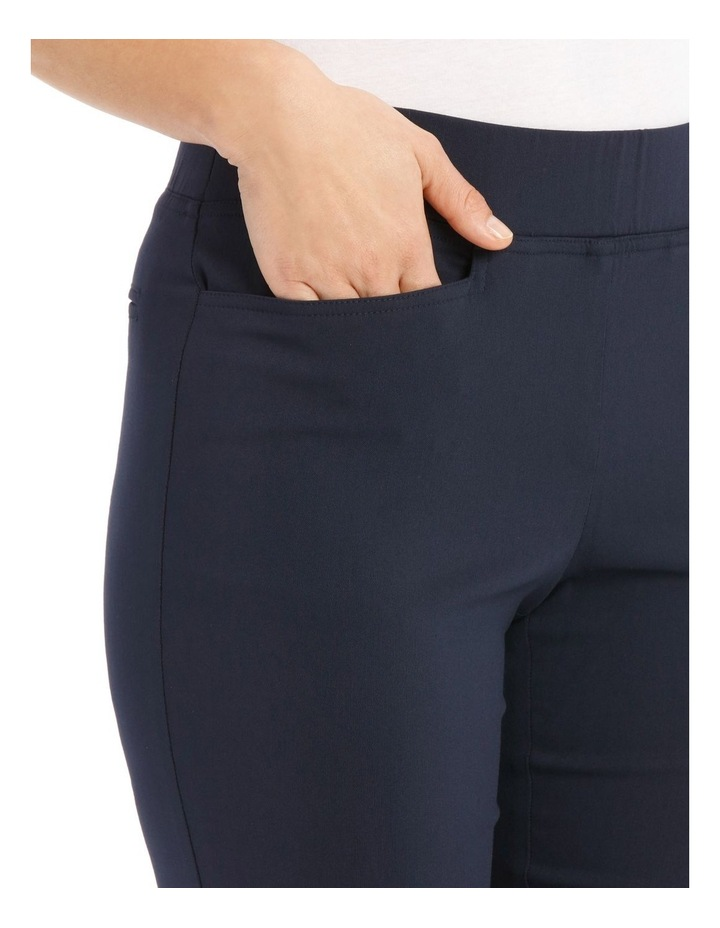 Essential Stretch Crop Pant-Navy image 4