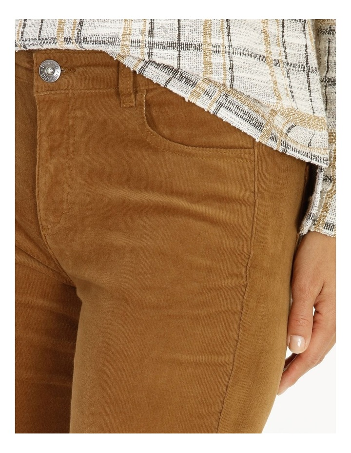 Burnished 5 Pocket Full Length Cord Pant image 4
