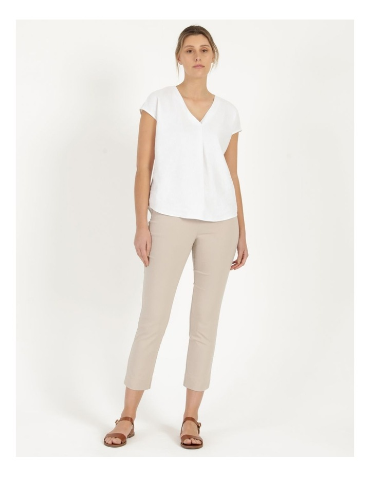 Essential Stretch Stone Crop Pants image 1