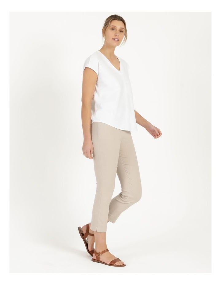Essential Stretch Stone Crop Pants image 2