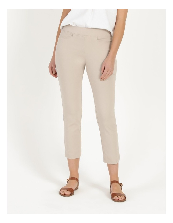 Essential Stretch Stone Crop Pants image 3
