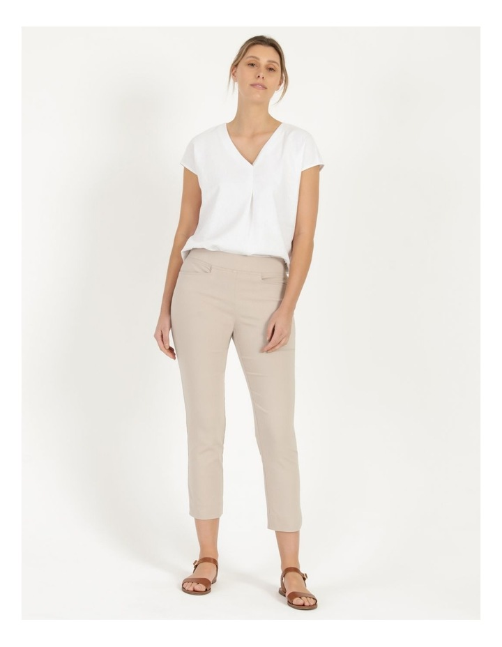 Essential Stretch Stone Crop Pants image 4