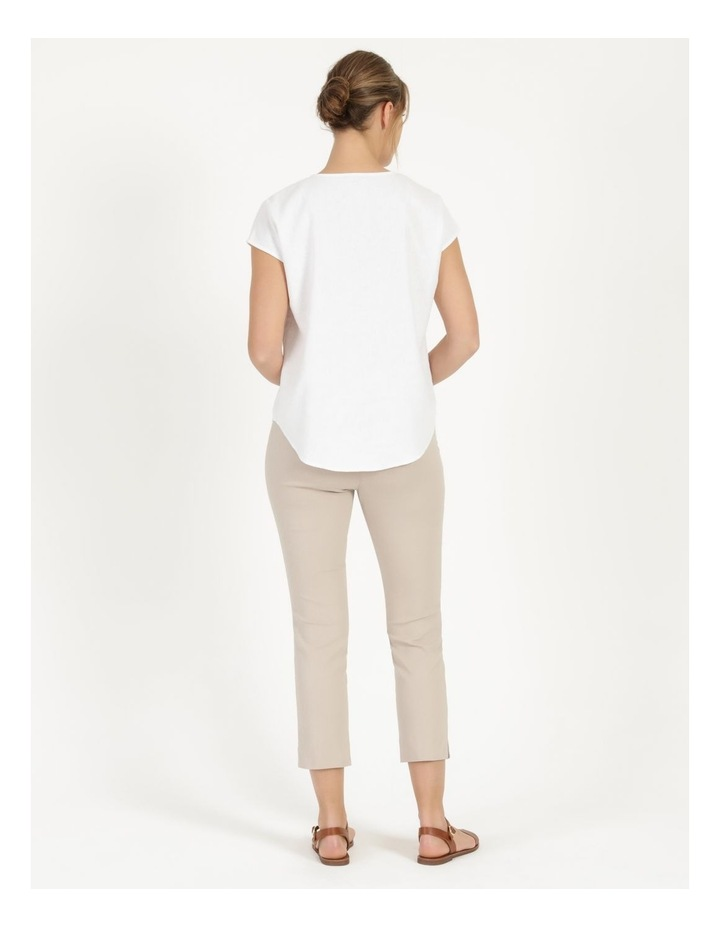 Essential Stretch Stone Crop Pants image 5
