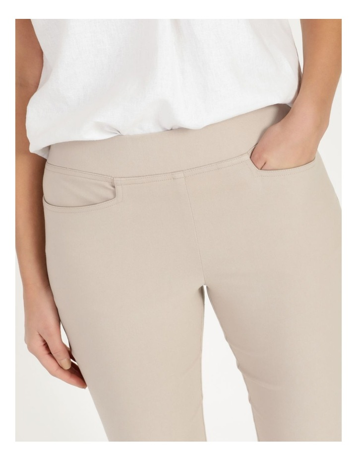 Essential Stretch Stone Crop Pants image 6